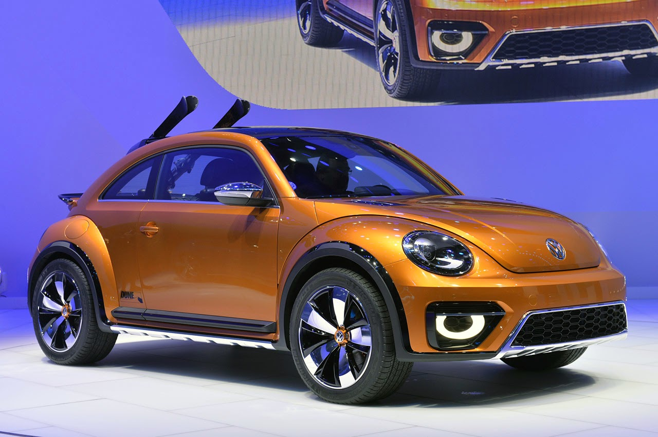 automotiveblogz vw beetle dune concept detroit