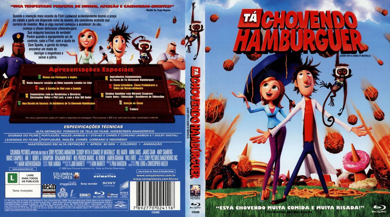 Filme Ta Chovendo Hamburguer Dublado Completo with capas filmes animação: março 2013