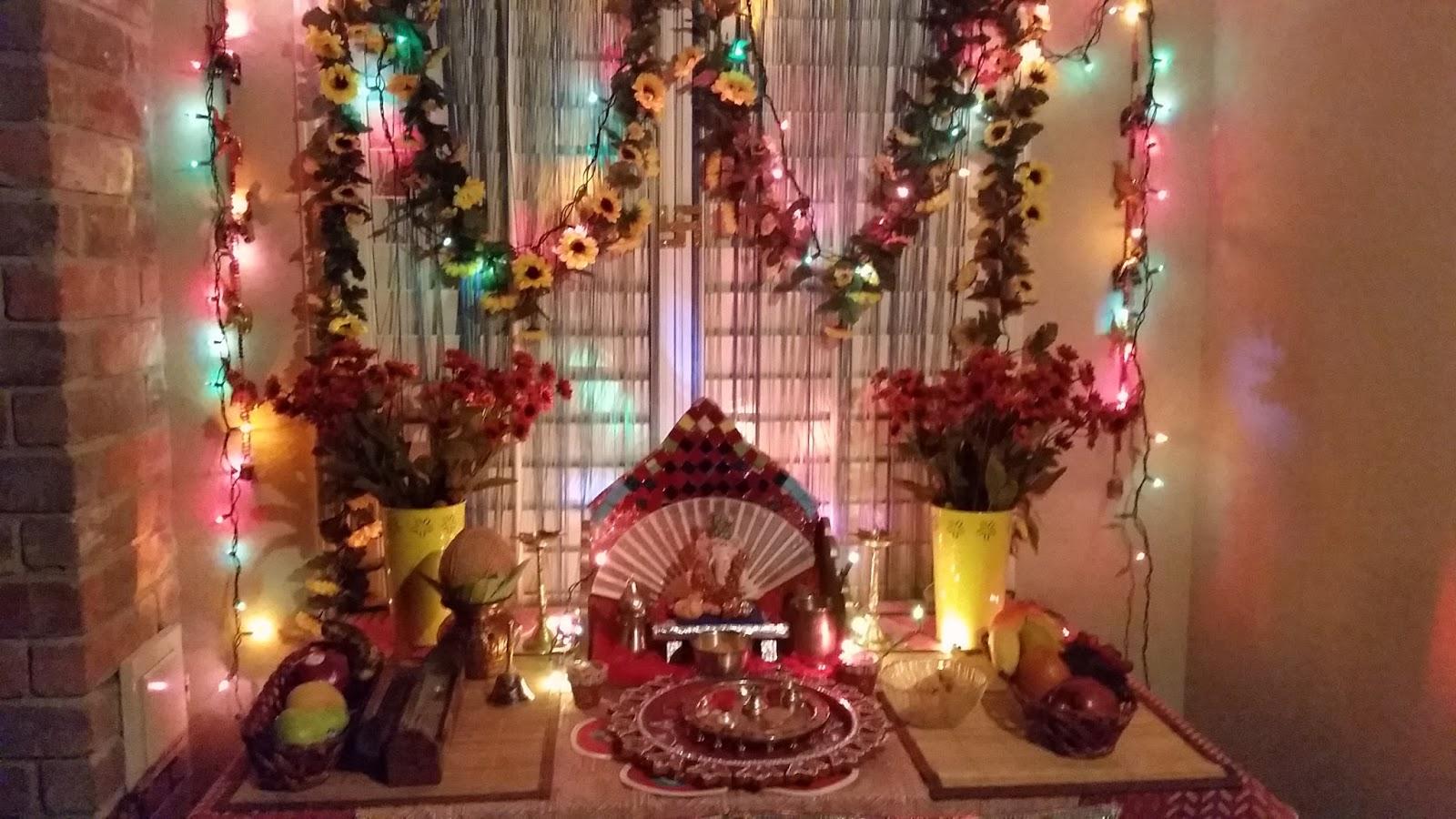 Ganpati Decoration Pictures : Desikalakar ganpati decoration