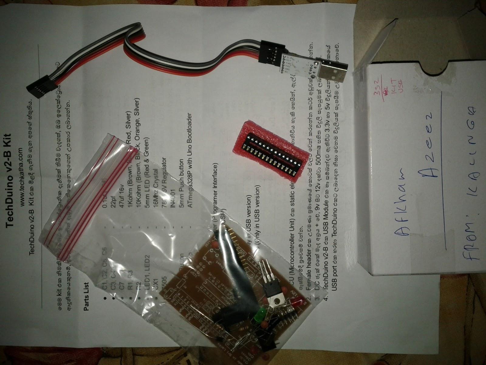 Techduino arduino clone made in sri lanka azeez s notes
