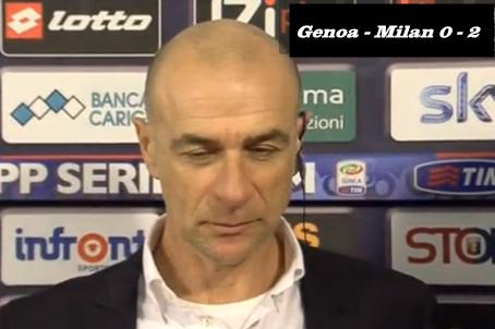 Genoa-Milan 0-2 Ballardini