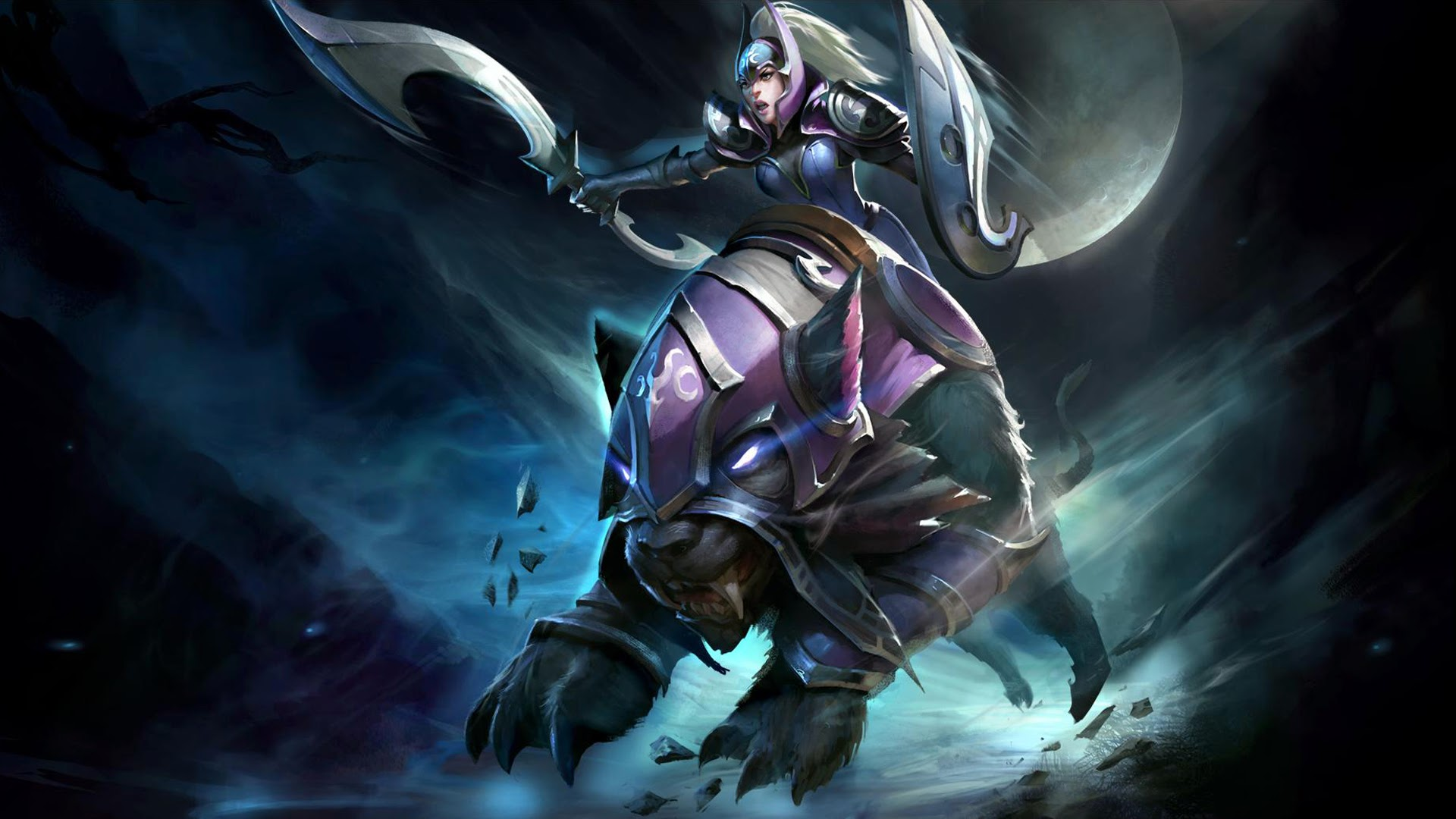 luna moon rider dota 2 13 wallpaper hd