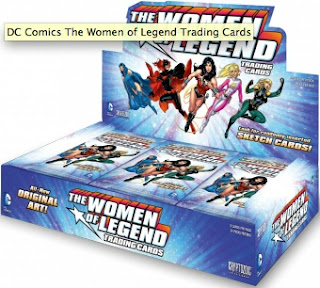 DC Comics: The Women of Legend Trading Cards display box