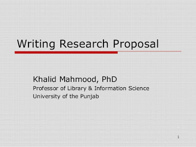 market research proposal