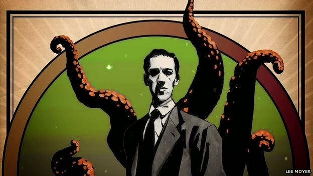 H.P. Lovecraft bandnaam betekenis - Horror author H.P. Lovecraft