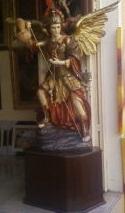 Estatua Arcangel