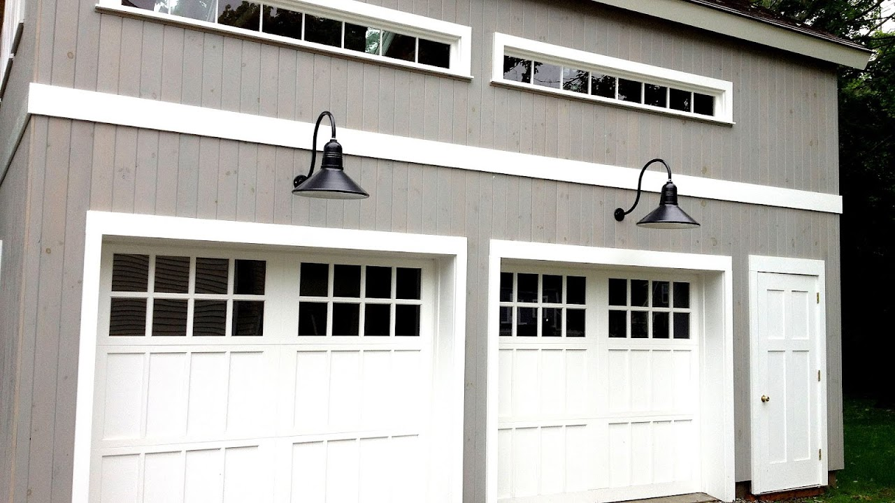 White Carriage Garage Doors White Choices