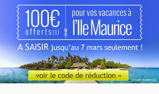 Bon de réduction Maurice100.