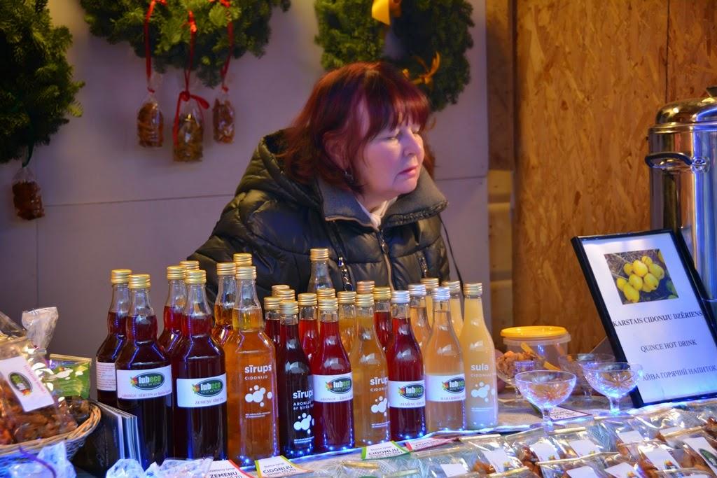 Christmas Market Riga sirup