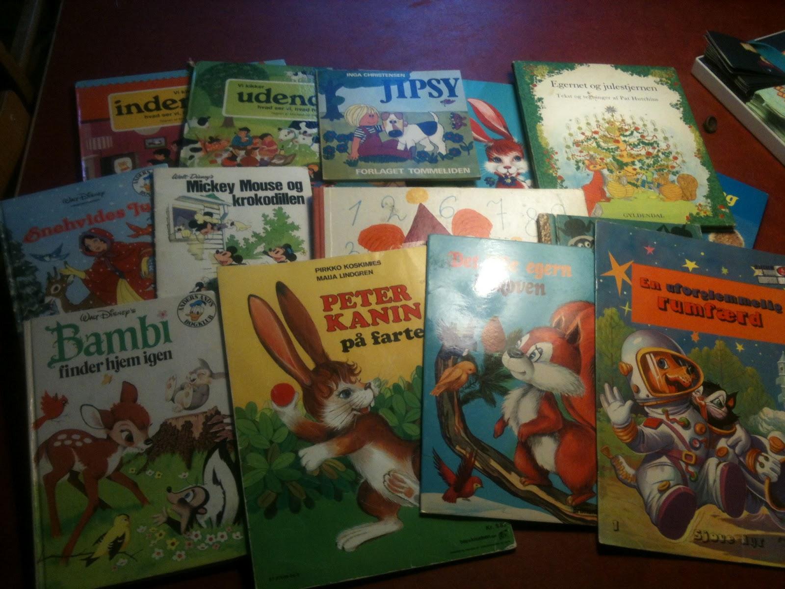 gamle børnebøger
