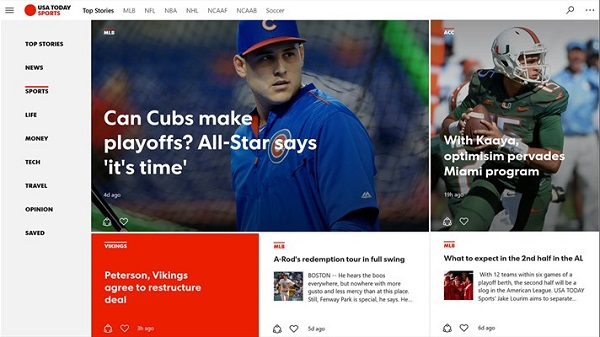 USA TODAY releases Windows 10 app