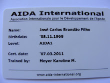 AIDA CERTIFICATION CARD