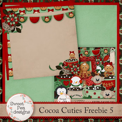 Happy 2014! Cocoa Cutie Freebie 5