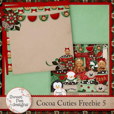 Happy 2014! Cocoa Cutie Freebie 5