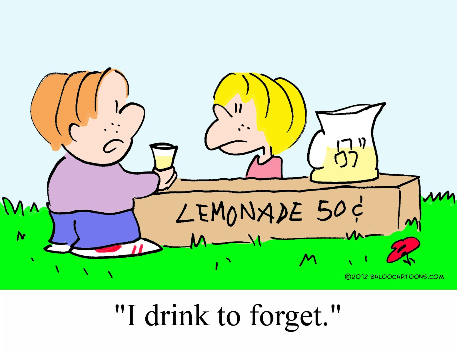 how to persuade people with lemonade stand