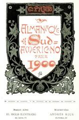 """Almanaque Sud Americano (1898-1900) """"en línea"""""""