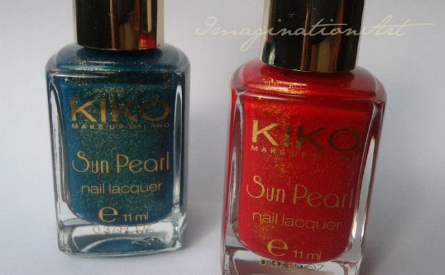 kiko collezione collection fierce spirit unghie smalto nail polish lacquer sun pearl river green 428 chili pepper red 430
