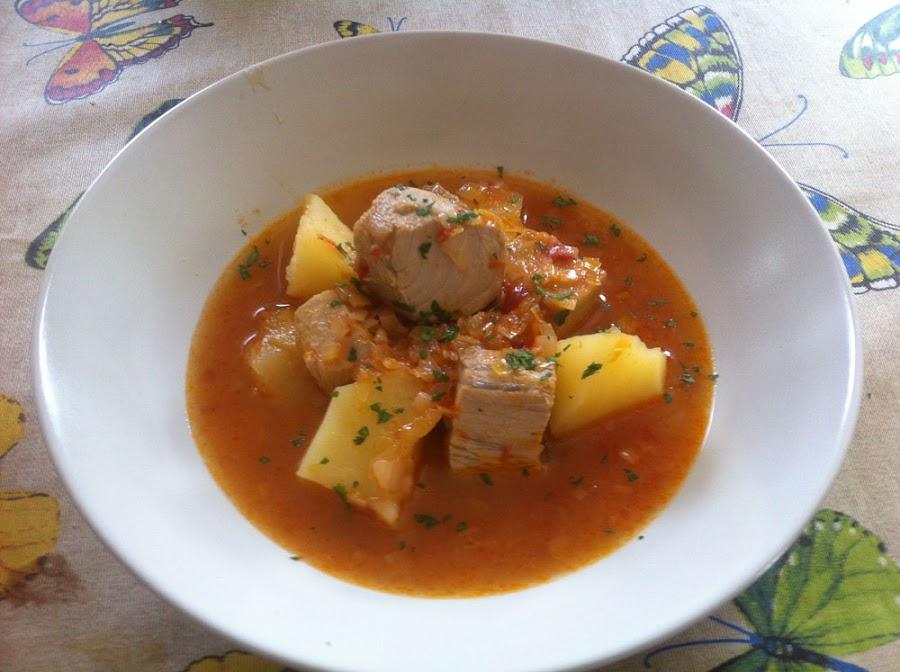 Marmitako tradicional - Cocinar atun congelado ...