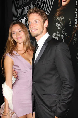 Jenson Button with Girlfriend