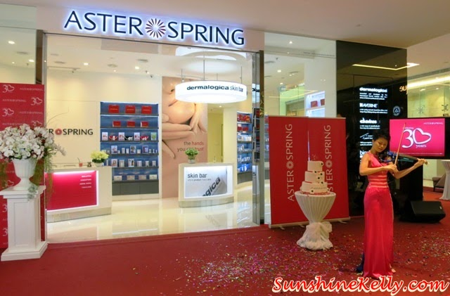 Aster Spring @ Pavilion Beauty Hall, Pavilion Beauty Hall, Aster Spring 30 Years Anniversary, Aster Spring Malaysia, Facial Centre