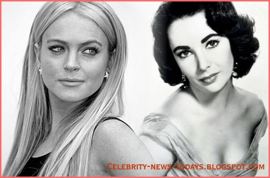 Lindsay Lohan play as Elizabeth Taylor