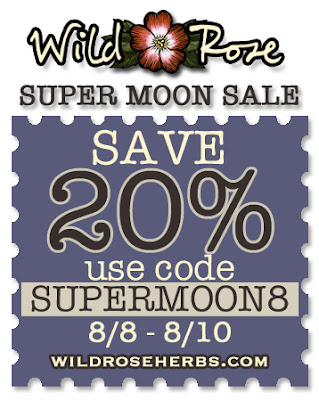 WIld Rose's Super Moon Sale!