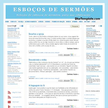 Estilo Blogger Template. minimalist design blogger template. blogspot template 3 column