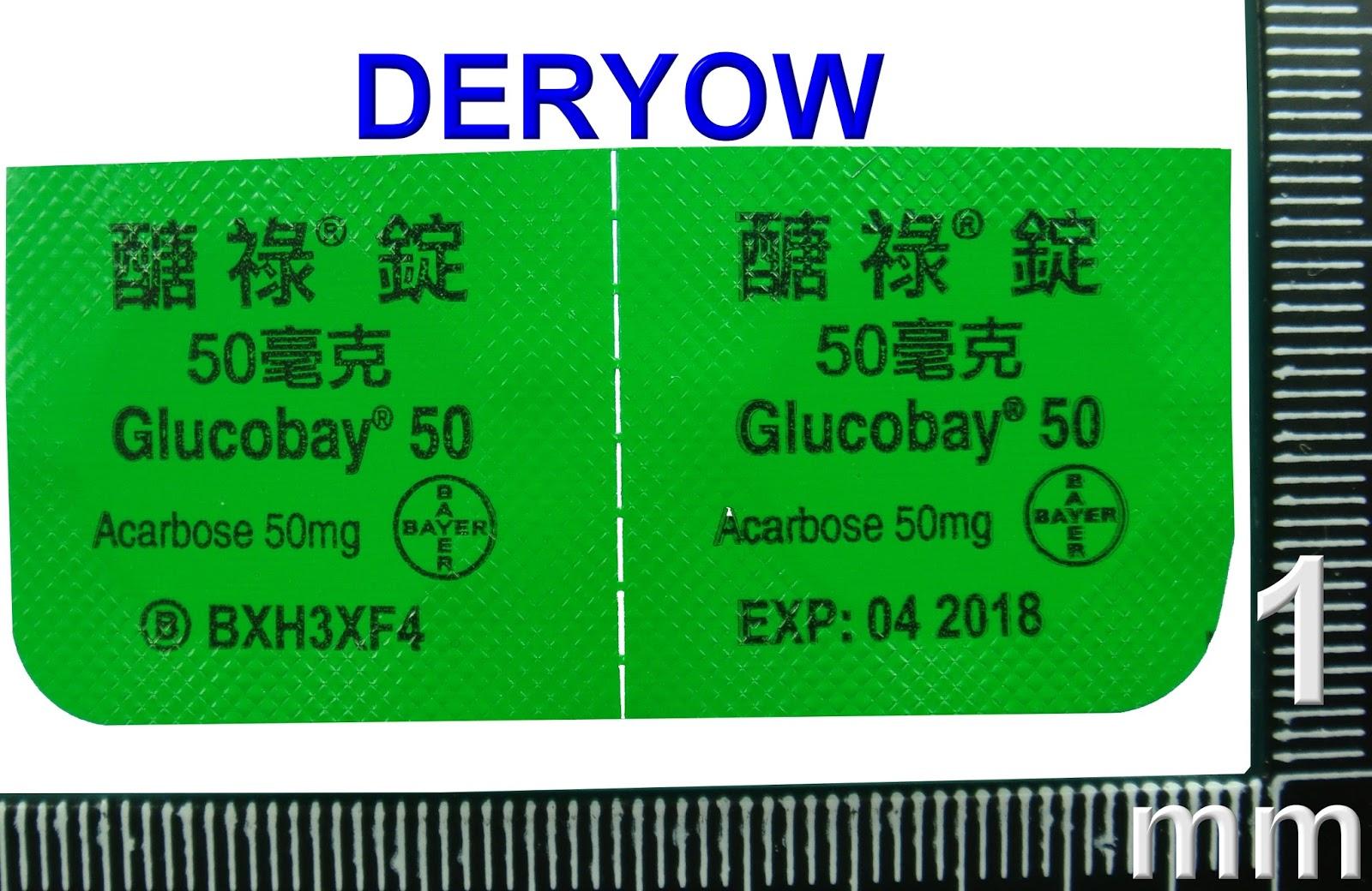 Glucobay 50 Acarbose
