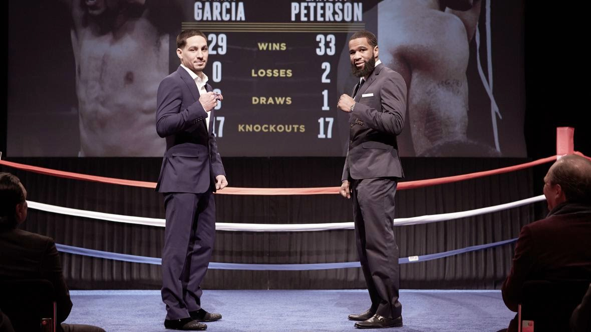 Who wins the PBC on NBC main event between Danny Garcia & Lamont Peterson April 11 in Brooklyn, NY?