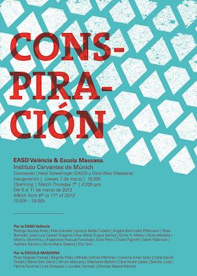 Schmuck 2013 – EXPO 'ConSpiración' - Instituto Cervantes, Munich (DE) - 6-10 Mars 2013 dans Alfredo GOMEZ (ES) 01+542632_224205447720790_1408247058_n