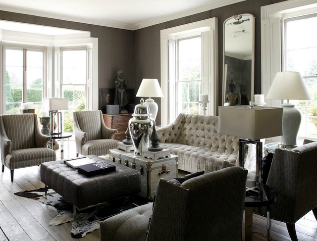 White and Gray Living Room Ideas 640 x 487