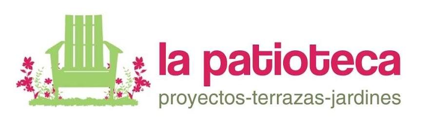 La patioteca proyectos terrazas jardines low cost for Logos de jardines
