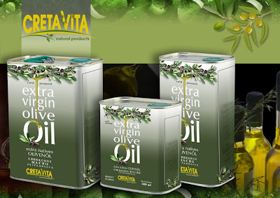 Extra virgin olive CretaVita and BIO EVOO packaging