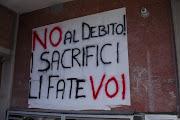 noi non paghiamo i vostri debiti