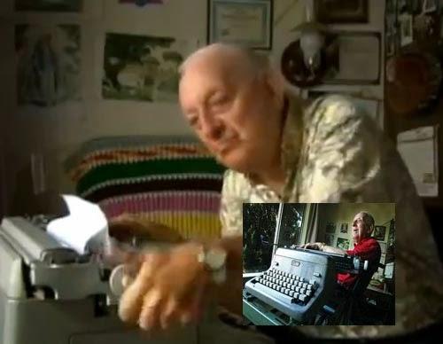 paul smith typewriter artist