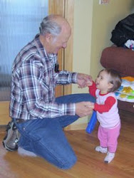 I love dancing with Grandpa Ed!