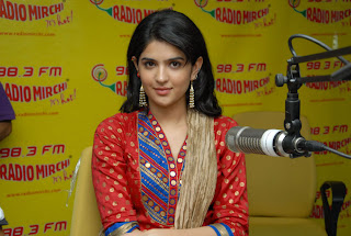 Deekshaseth at radio mirchi