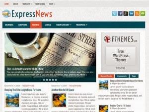ExpressNews - Free Wordpress Theme