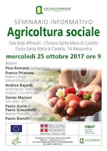 Erapra Piemonte: Le opportunità dell'agricoltura sociale