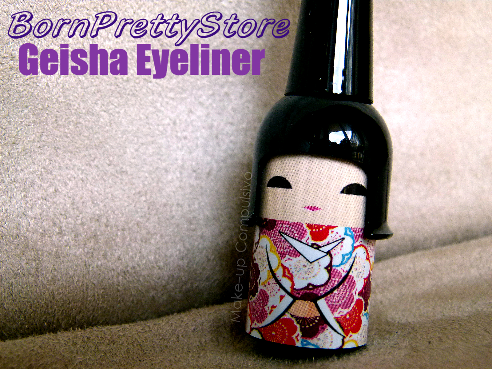 Geisha eyeliner di Born Pretty Store: review
