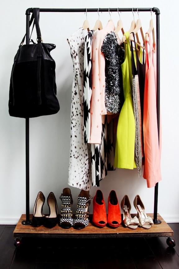 clothing rack fashion