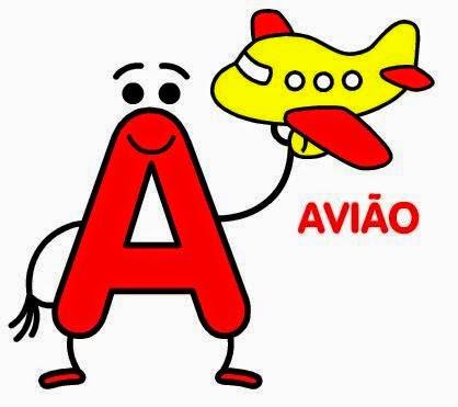 Bloguinho de atividades letras do alfabeto divertidas - Literas divertidas para ninos ...