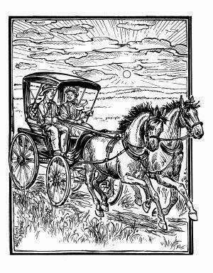 Little house companion happy birthday almanzo for Little house coloring pages