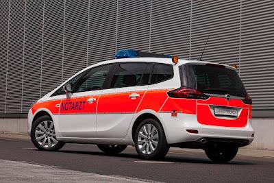 Opel Zafira Tourer Notarzteinsatzfahrzeug (2013) Rear Side