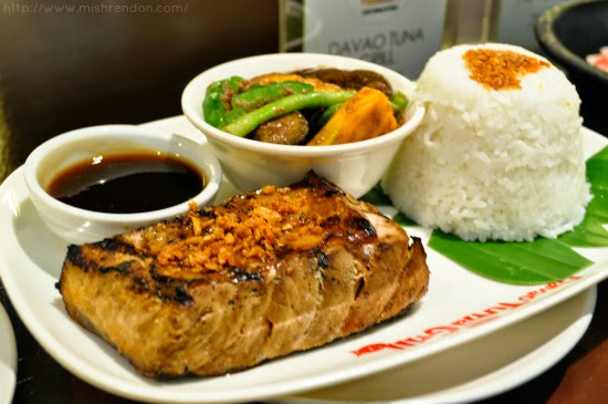 Grilled Tuna Belly from Davao Tuna Grill SM Fairview Foodcourt