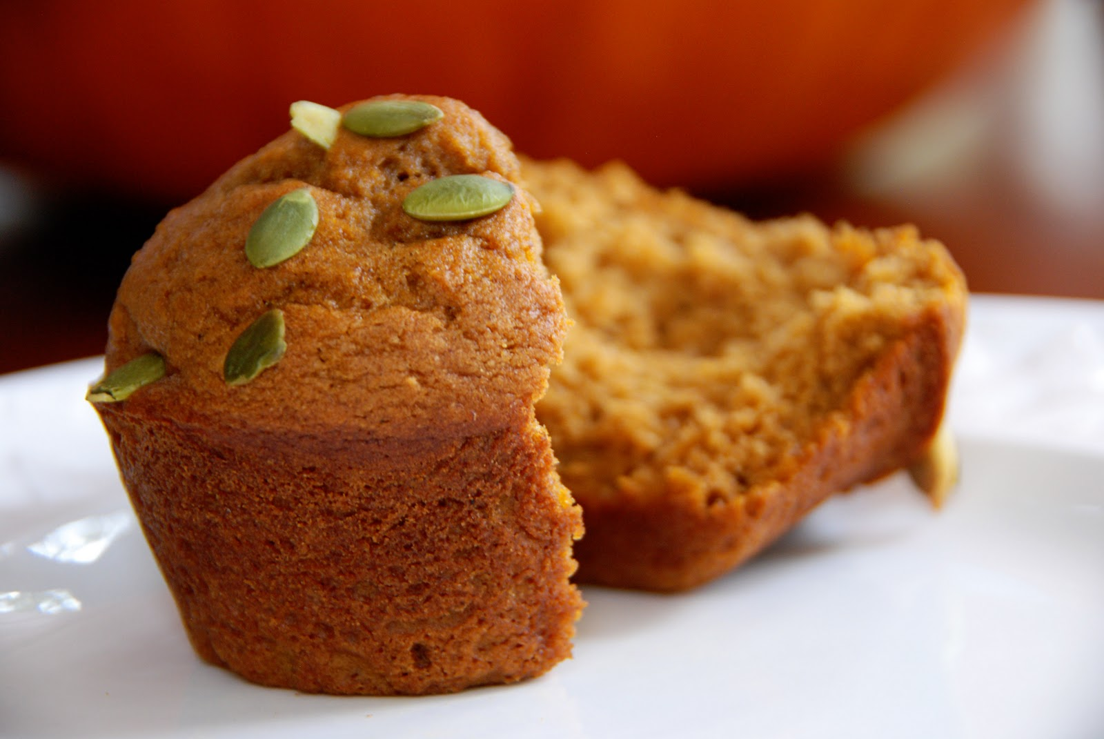 Simple Girl: Low Fat Pumpkin Muffins