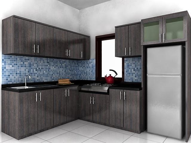 Melengkung atau wastafel baskom melengkung design dapur minimalis
