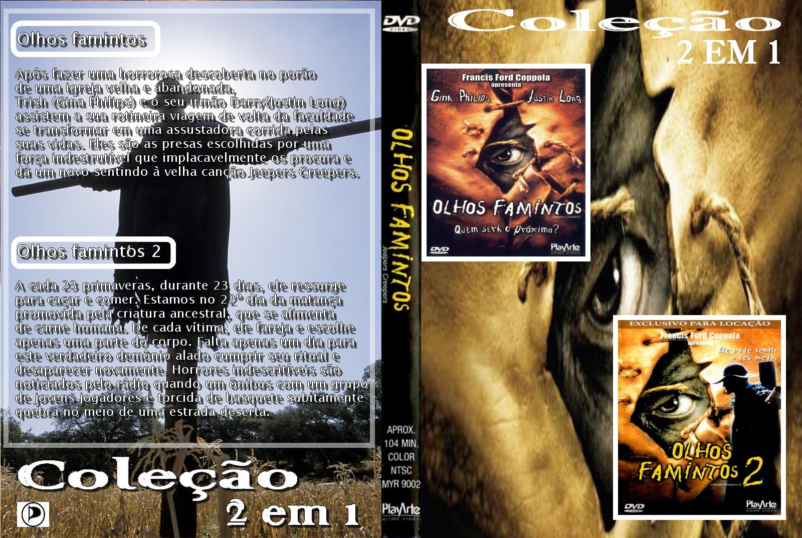 Olhos Famintos 1 e 2 DVDRip X264 Dublado OLHOS FAMINTOS 2 em 11