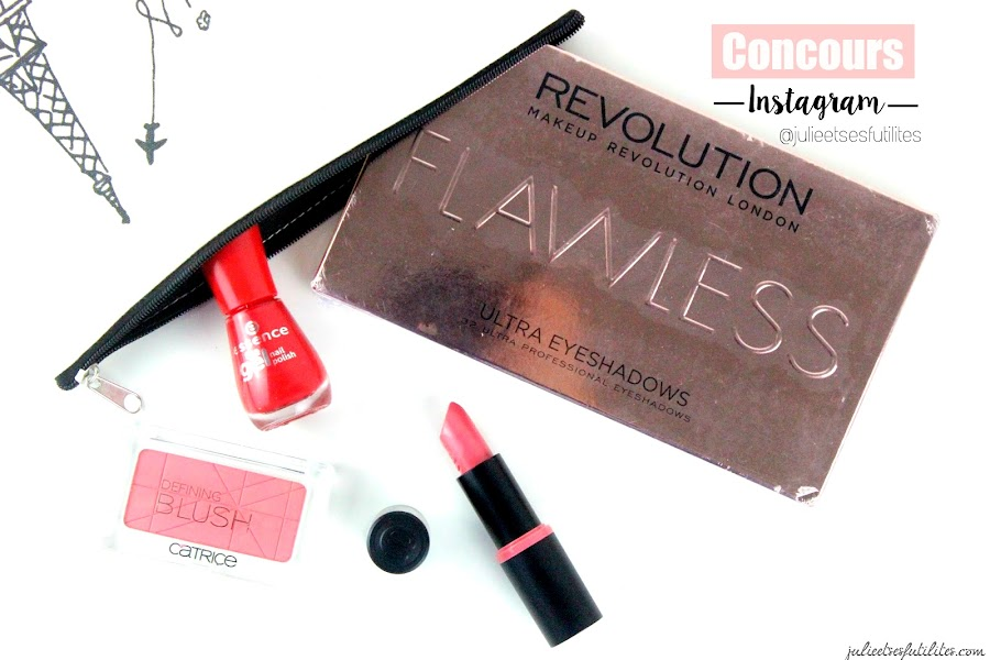 [VIDEO HAUL] Concours Instagram (Makeup Revolution, Essence, Catrice) - julieetsesfutilites.com
