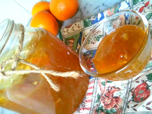 Home Made Orange Marmalade